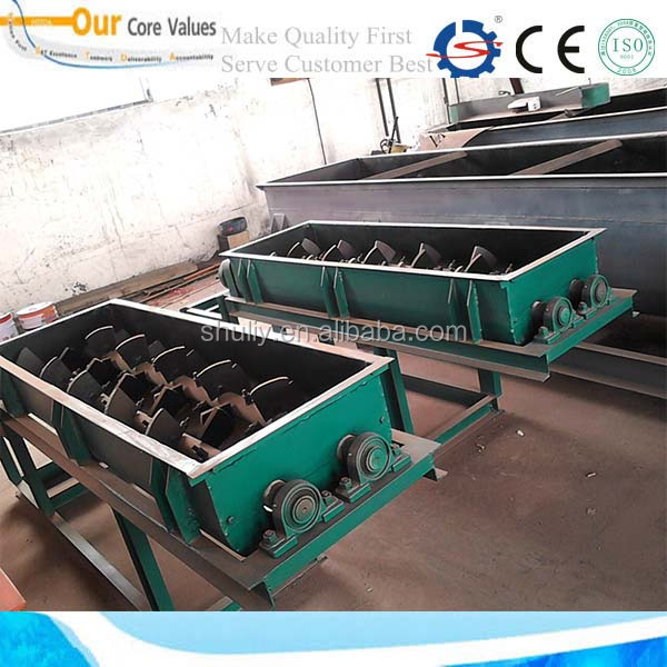 Automatic clay double shaft mixer for brick making machine 008613673685830