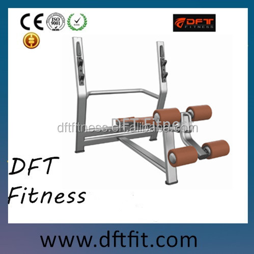 New design Free weight gym equipment/DFT-835 incline bench dimensions/ commercial gym equipment machine