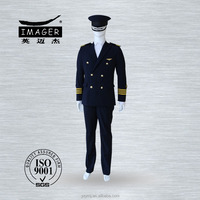 Navy Army military uniform for men pilot captain