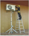 Electric control Telescopic Portable lifter made by robust aluminum
