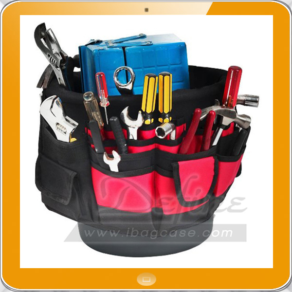 Outdoor Bucket Caddy Garden Tool Organizer
