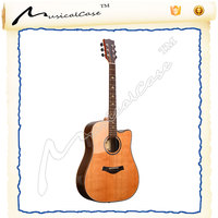 High Quality Spruce Plywood Acoustic Guitar , guild guitars