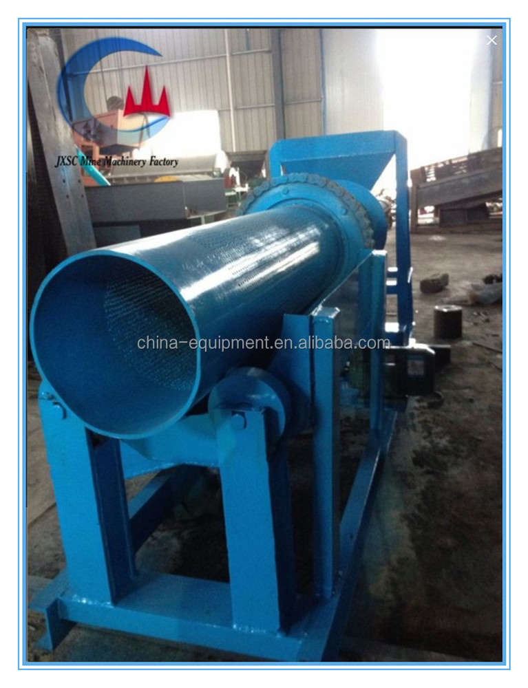 2014 10 T/h small scale clay gold ore washing plant