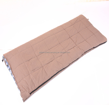 100% cotton Canvas warm travelling Outdoor portable comfort sleeping bag