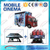 Trailer moving 5D 7D Cinema Theater Movie/high quality Truck Mobile 5D Cinema