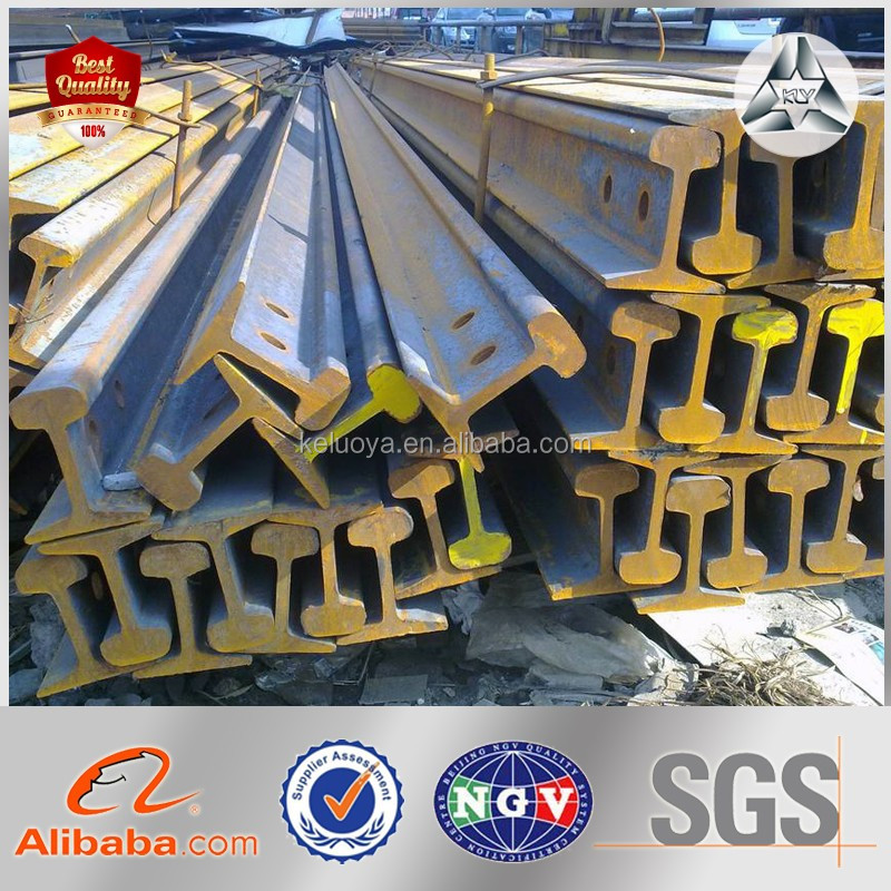 Hot Rolled Steel Rail, Railway Rail/Heavy Rail with Low Price (GB Standard)