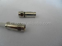 f type Connector rg6 compression f connector automotive electrical connector type