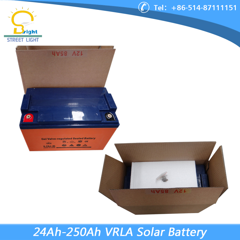 Heat resistant Rechargeable 12v 150Ah solar gel battery