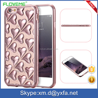 2016 new cheap wholesale alibaba 4 colors electroplating soft bumper case for iphone case for girl for iphone 6/6s/6plus/6s plus