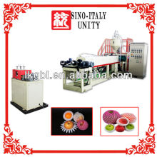 International standard PE foamed net extruder machine