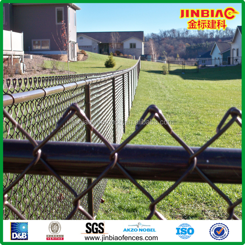 Chain link Woven Wire Mesh Fence