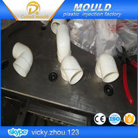 injection for pipe fitting by alibaba supplier/pp sanitary pipe fitting mould/omelette mould