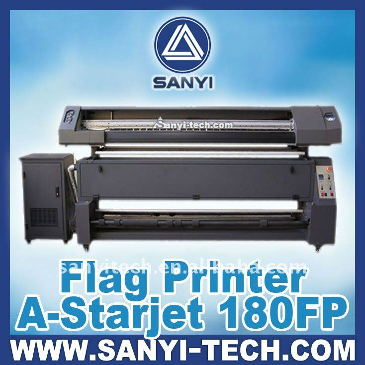 1.8m/3.2m Flag Printing Machine 180FP With Epson DX5 Heads
