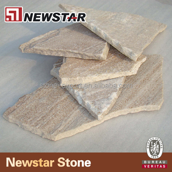 chinese cheap yellow Slate Cheap Flagstone Floor Tile
