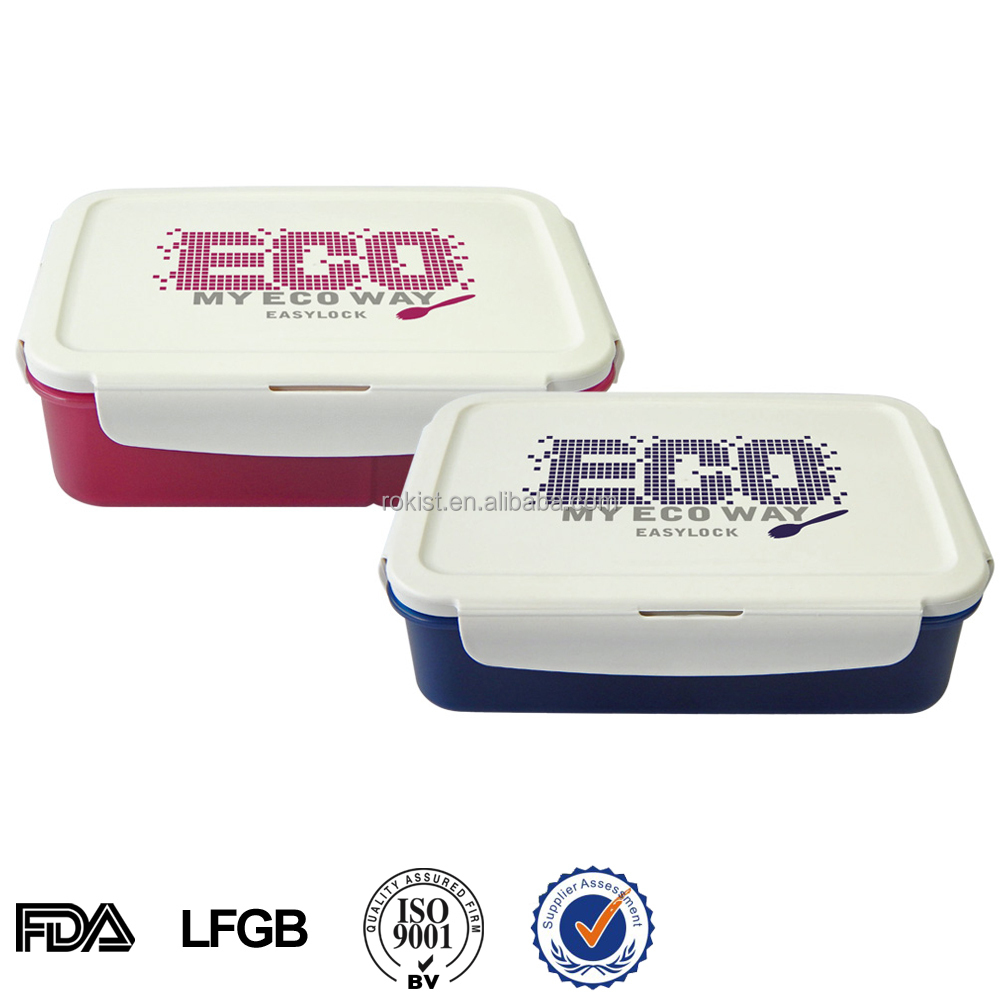 Kids Plastic Lunch Box With Compartment