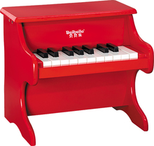 2017 year junior children 18 key cheap and hot sale wooden piano toy for sale