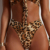 exotic leopard print womens swimsuits fashion two pieces swimwear swimsuit 2019