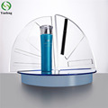 Custom Design Logo Acrylic Cosmetic Display Stand for Shopping Mall