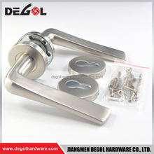 Beautiful European style stainless steel polish chrome shower door handle
