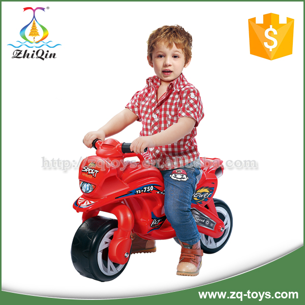 Good quality plastic kids ride on toy car motor