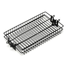BBQ Non-Stick Coating Iron Wire Mesh Kitchen Cooking Grill Basket With Lock