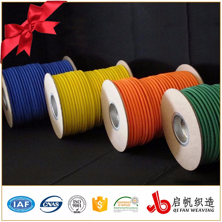 China Supplier Okeo-Tex Good Quality Durable Elastic Cord