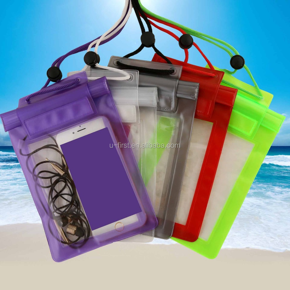 2015 Hot Selling High Quality Best Waterproof Mobile Phone Bags