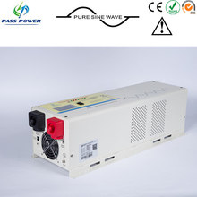 pure sine wave 6000w pool pump inverter, 24v 48v inveter with well impact resistance