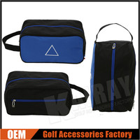 Custom Polyester Golf Shoes Bags With Handle
