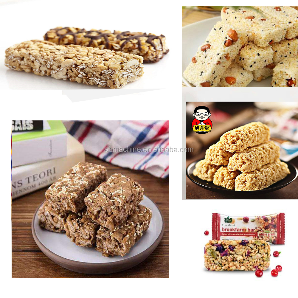 granola bar marshmallow treat cereal bar cutting machine