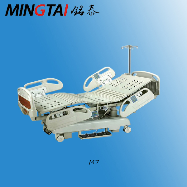 Hospital care equipment ICU electric 7-function medical bed price