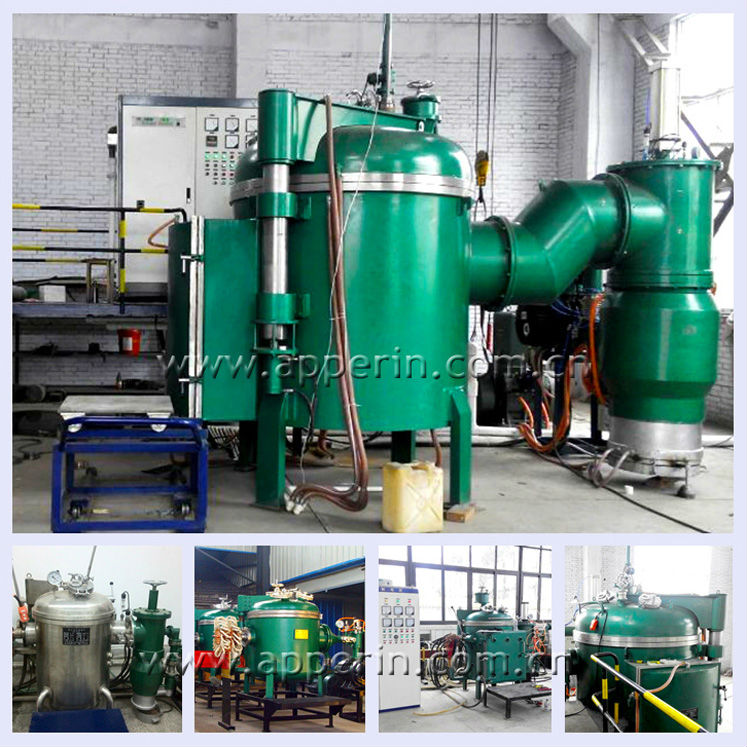 High temperature Vacuum Hydrogen Furnace for copper brazing and sintering