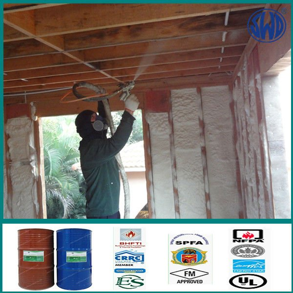 2 pack polyurethane urea closed cell foam insulation kit