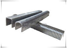 aluminum staple /hot sale finish nail U shape staple/ furniture nail heavy duty staple