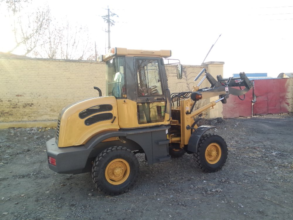 Chinese Hydraulic heavy equipment tractor loader backhoe