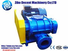 Two stage high pressure Roots type sand transport blower