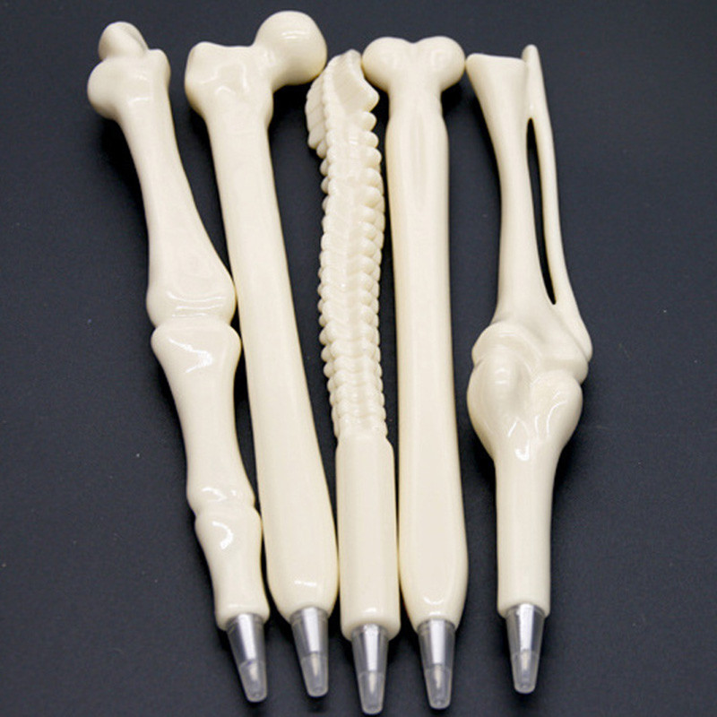 Student Creative Ballpoint Pen Human Bones Ballpen School Supplies Office Supplies Home Decoration Kids Gift Reward