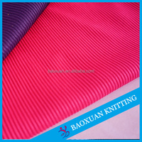 365gsm polyester tubular rib knit fabric