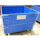 Warehouse 4.5-6mm wire welded steel wire mesh cage with PE board