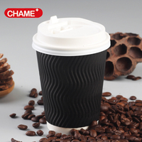 RIPPLE WALL COFFE CUPS - Cost effective & Eco friendly
