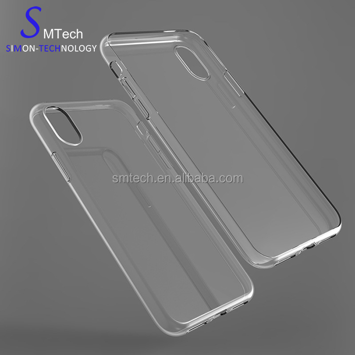 For iPhone7/8 tpu case Clear Soft Transparent Glossy Mobile Phone Case