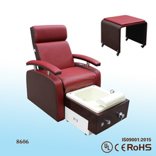 2016 manicure chair nail salon furniture facial and pedicure chair s8606