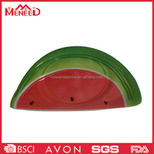 Festival melamine decorative dishes, watermelon creative premium plastic plates