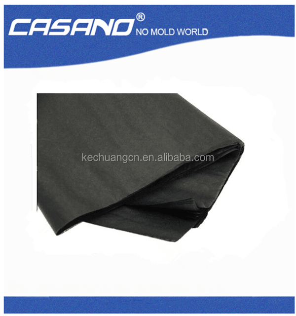 black wrapping tissue paper for shoes/garment