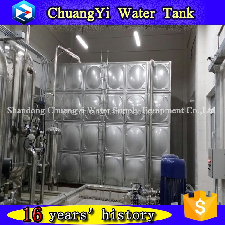 Manufacturer directly supply stainless steel ss304 water tank with low price