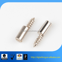 Sandwich belt interface cross flat round head flat tail tapping screws
