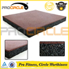 Cross Fitness High Density Noiseproof Gym Rubber Flooring