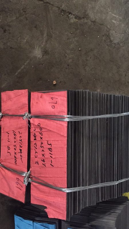 hot and cold rolled steel sheet ( plate ) of stainless steel grade X22CrMoV12-1