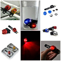 Waterproof Aluminum Ruby Led Sanguan Led Rear Bicycle Light Review