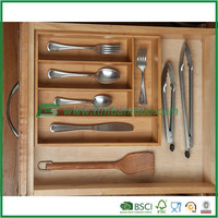 FB5-1023 Kitchen Drawer Cutlery Tray bamboo product with good wholesales